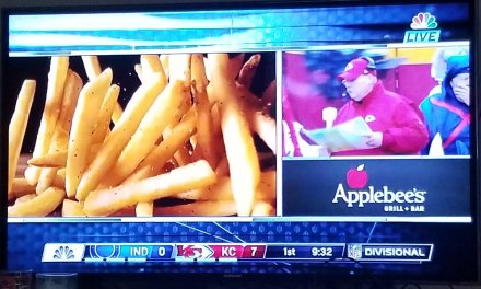 """NBC Showed Andy Reid during an """"All You Can Eat"""" Applebees Commercial"""