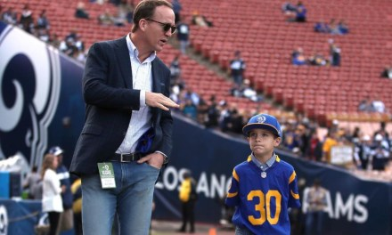 Peyton Manning's Son is a Rams Fan