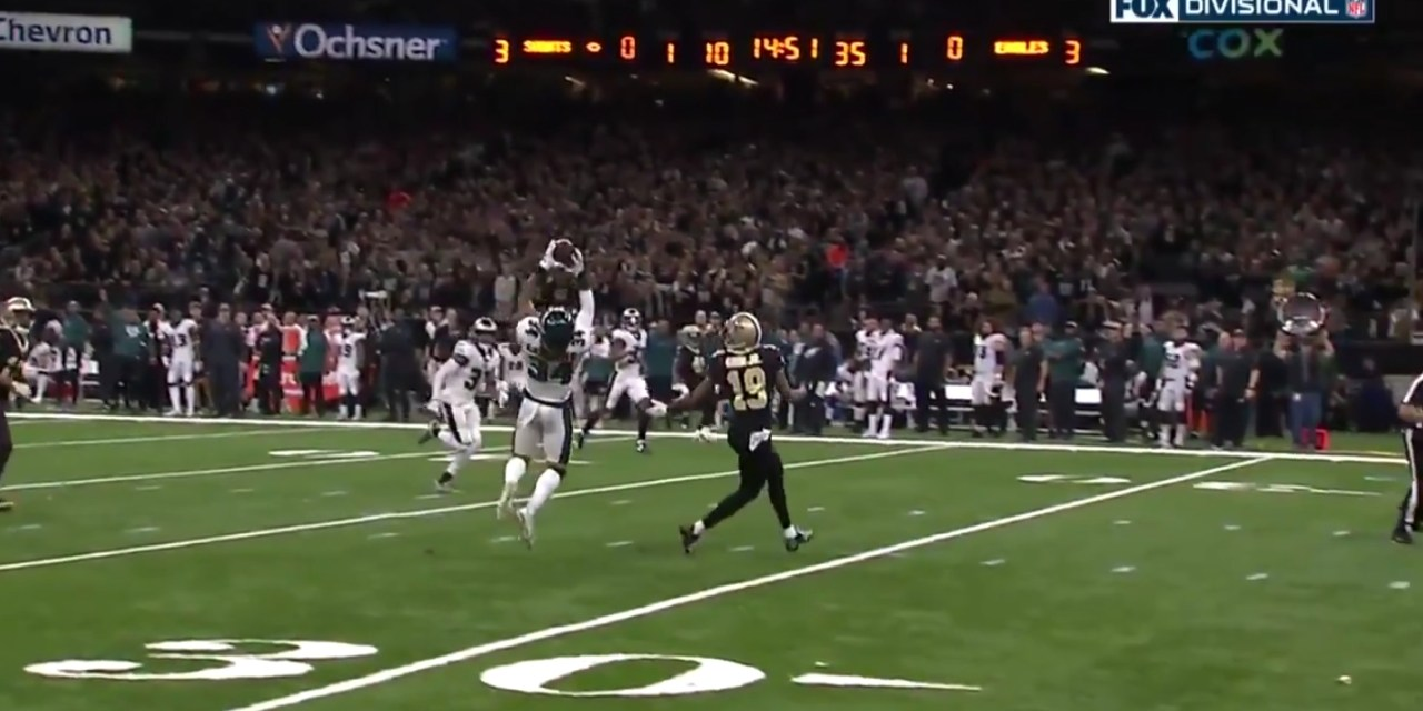Drew Brees Threw an Interception on the First Play from Scrimmage