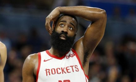 James Harden Ties Single-Game Record for Most Misses from 3