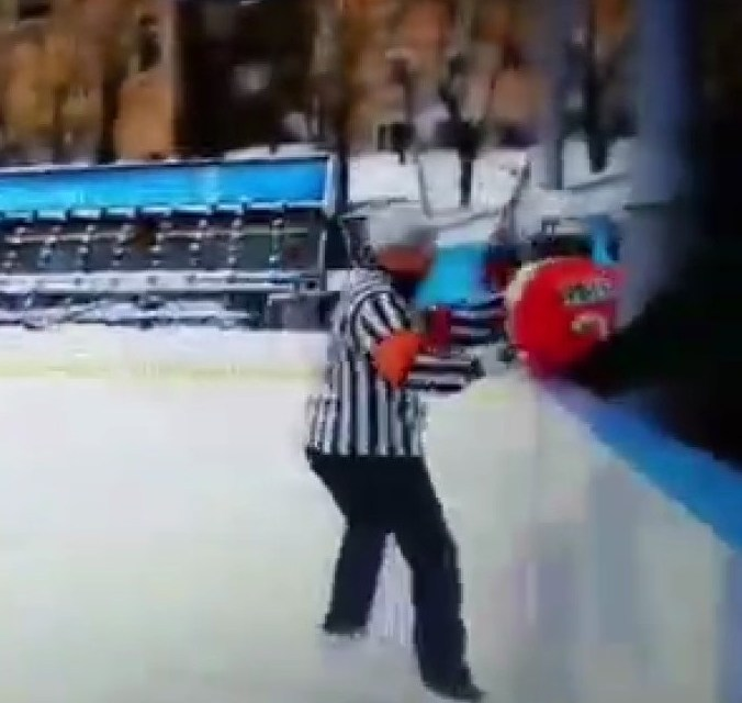 Hockey Ref Has Altercation With 11 Year Old Player