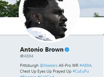 Antonio Brown Removed 'Pittsburgh Steelers' From His Twitter Bio