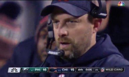 Bears' Head Coach Matt Nagy Not Happy Cody Parkey Went on The Today Show