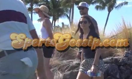 Aaron Rodgers and Danica Patrick Take a Hawaiian Vacation