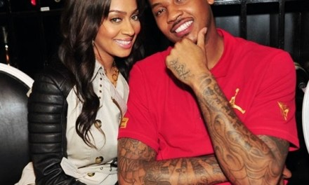 Lala Anthony Cuts Off Comments After Melo's Side Baby Remarks