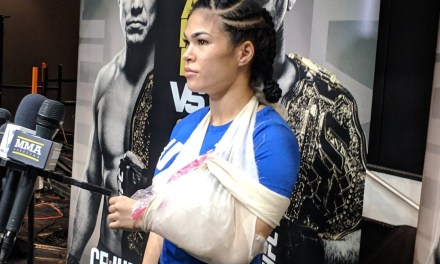 Paige VanZant Dislocated Rachael Ostovich's Arm with Armbar Submission