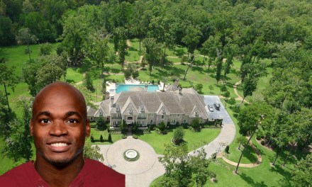Adrian Peterson Selling Dallas Mansion for $4.7M