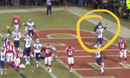 Chiefs Fan Tossed a Beer Can at Patriots Player David Andrews