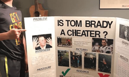 Kid Submits Science Fair Project Asking if Tom Brady's a Cheater