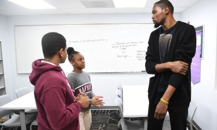 Kevin Durant Opens After-School Facility In Hometown