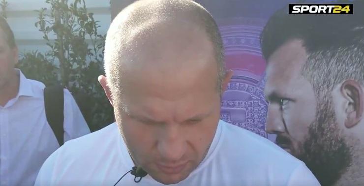 MMA Legend Fedor Emelianenko Criticizes Khabib over McGregor Brawl