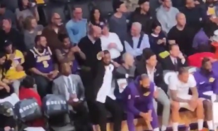 LeBron James Shows Off His Incredible Court Vision by Spotting Fans in the Nosebleeds