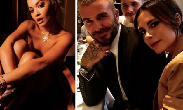 David Beckham's Son Brooklyn Was in Hot Water Over Pics with Rita Ora that Surfaced