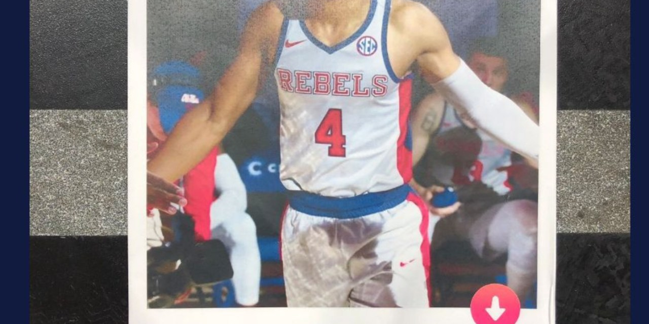Florida Student Matched with Ole Miss Basketball Player on Tinder then Passes Out their Exchange to the Student Section Before Game