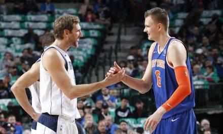 Kristaps Porzingis Tells Knicks Fans to Stay Woke