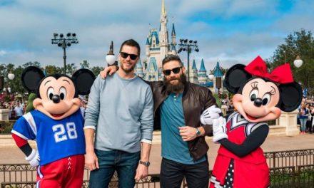 Tom Brady and Julian Edelman Celebrate Super Bowl LIII Title in Disney World