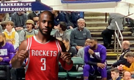 Chris Paul Trolls LeBron Over Him Sitting By Himself on the Bench