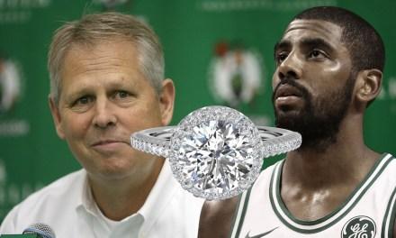 Danny Ainge Announces Celtics Guard Kyrie Irving is Engaged