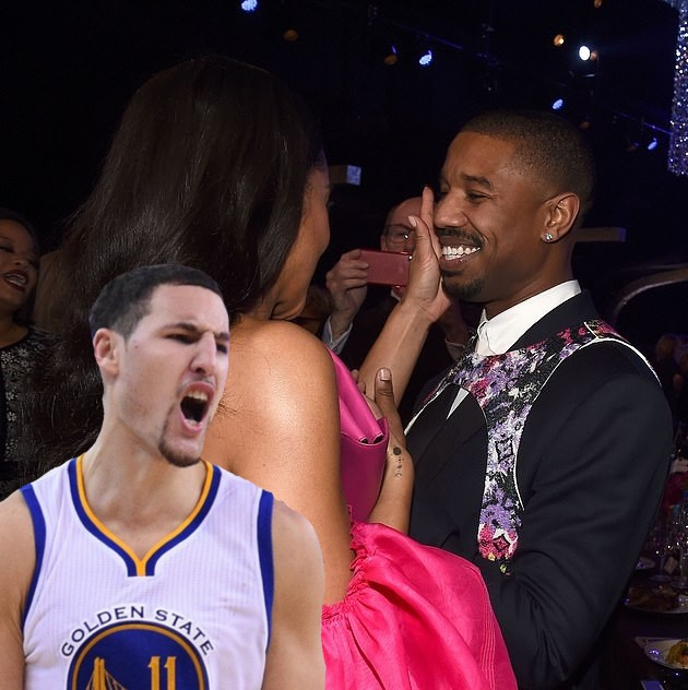 Now Outlets Are Reporting Klay Thompson's Girlfriend Laura Harrier is Dating Michael B. Jordan