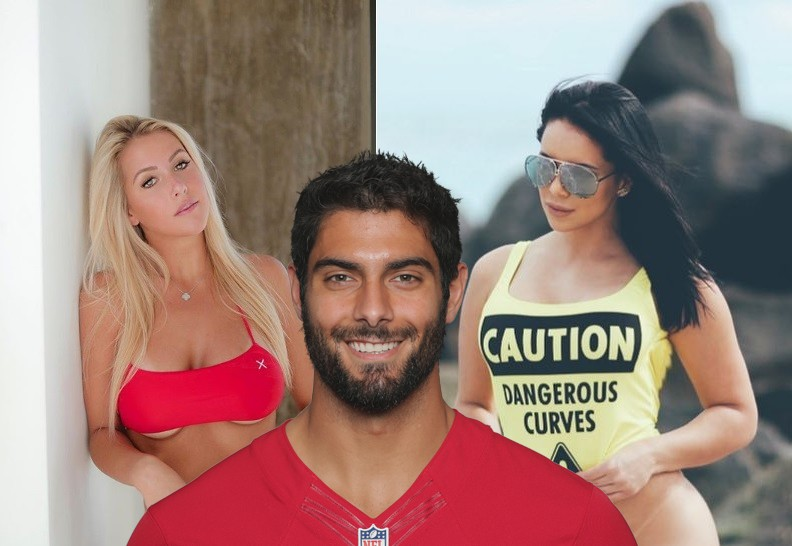 Jimmy Garoppolo Spent His Contract Anniversary Weekend Liking Instagram Models