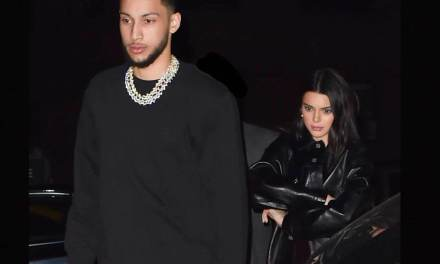 Ben Simmons and Kendall Jenner Spent the Early Morning of Valentine's Day Together