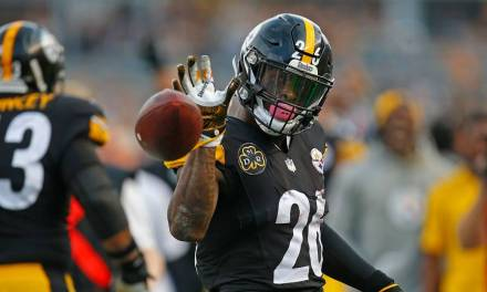 Le'Veon Bell's Ex Needed Some Help Forgetting Him on Valentine's Day