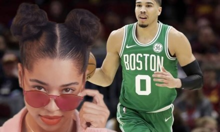 Singer Ella Mai Shooting her Shot with Jayson Tatum