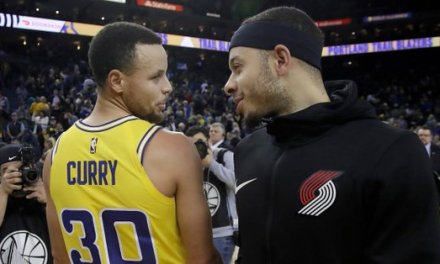 Curry Brothers Place Wager on 3-point Contest