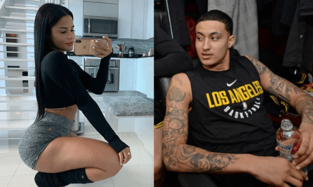 Kyle Kuzma and Katya Elise Henry are Vacationing in Miami