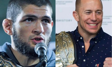 Khabib Responded to the Georges St-Pierre's Retirement News