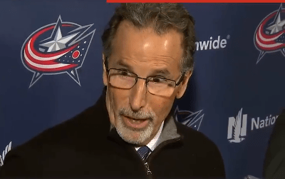 """Blue Jackets Head Coach John Tortorella Said Artemi Panarin was Out of the Lineup Because He """"Sh*t His Pants"""""""