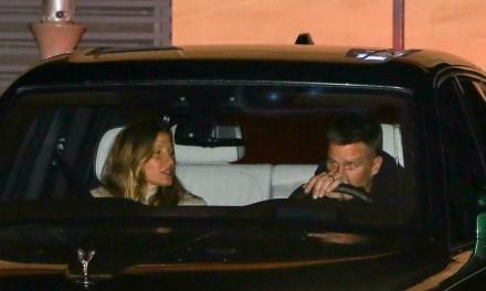 Tom Brady and Gisele Bundchen Enjoy a Date Night in Malibu