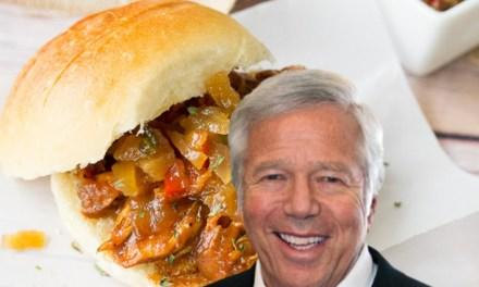 New York Restaurant Goes HARD at Robert Kraft with Sandwich Name
