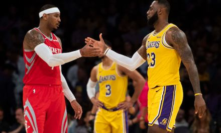 """LeBron Wants the Lakers to Sign Carmelo Anthony, But the Team Reportedly """"Wants to Go in a Different Direction"""""""