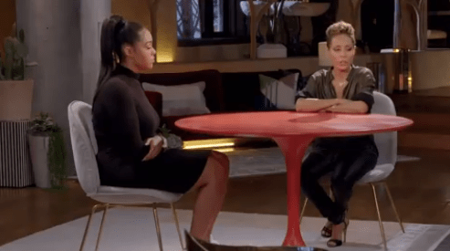 "Jordyn Woods Talks About the Tristan Thompson Cheating Scandal on ""Red Table Talk"""