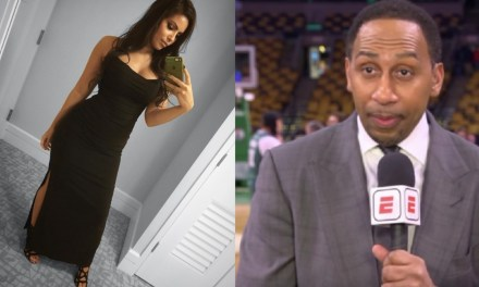 Stephen A. Smith Dedicated a Full Minute of His Show to David Fizdale's Wife Natasha