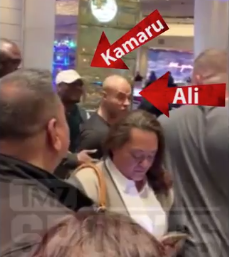 UFC Welterweight Champion Kamaru Usman and Colby Covington Have to Be Separated at a Casino