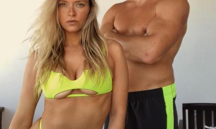 More Gronk Pondering Retirement with Camille Kostek  in Cabo San Lucas