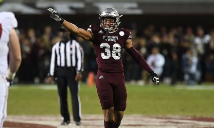 """Mississippi State DB John Abram Learned How to Hit from the Movie """"The Waterboy"""""""