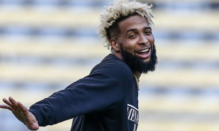 Odell Beckham Jr. Spotted Euro Clubbing This Week