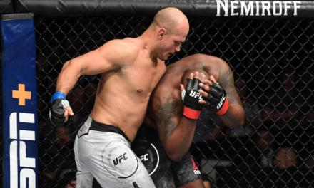 Junior Dos Santos TKO's Derrick Lewis With Beatdown at UFC Wichita