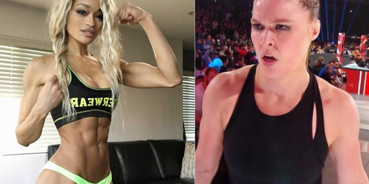 Fitness Model Alicia Marie Calls Out Ronda Rousey