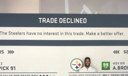 The Antonio Brown Trade Was Such a Bad Deal for the Steelers, Madden Declined It