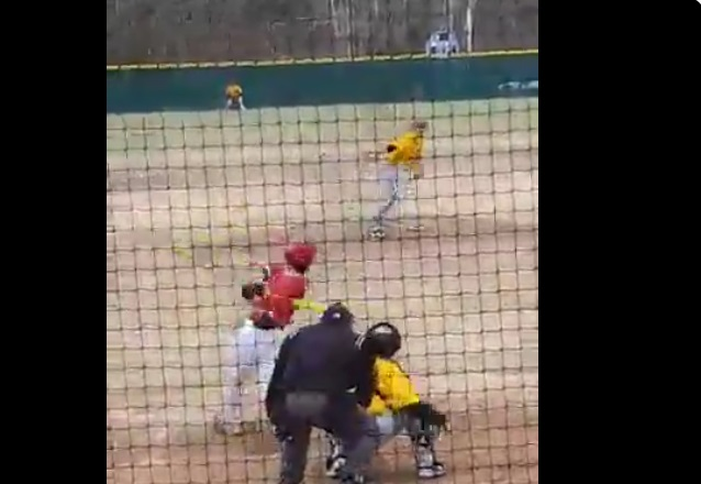 Baseball Mom Heckled her Son After he Gave Up a Homer in his First College Pitching Appearance
