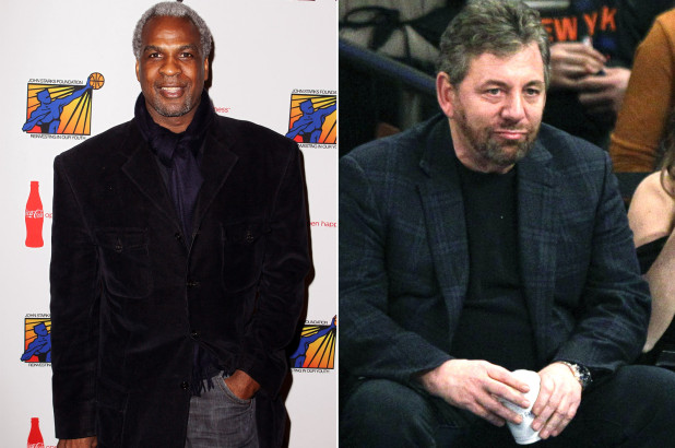 Charles Oakley Calls Knicks Owner James Dolan A 'Bully' for Fan Incident