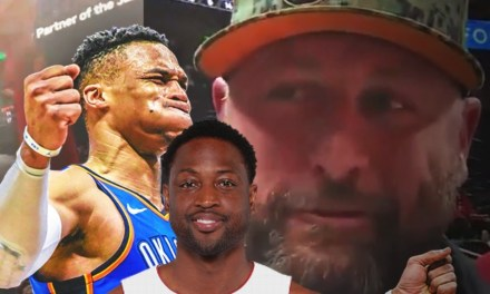 Dwyane Wade Calls out Jazz Fan Shane Keisel For Starting with Russell Westbrook