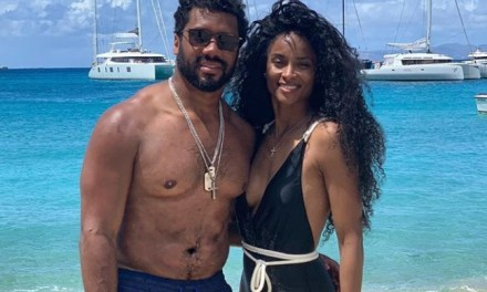 Ciara Jet Skiing with Russell Wilson to Close Out Their St. Barts Vacation