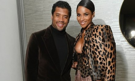 Ciara and Russell Wilson Have an InStyle Dinner To Celebrate Ciara's Cover