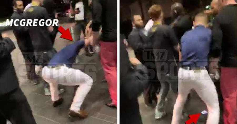 Watch Conor McGregor's Footage of Him Stomping on a Fan's Cell Phone
