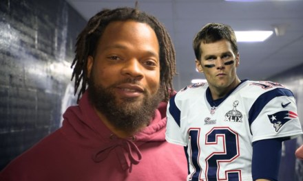 Michael Bennett No Longer Hates Tom Brady's Hair